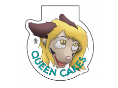 Queen Cakes - Conbadge Exchange, August 2013