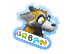 Urban Fox - Conbadge Exchange, November 2013