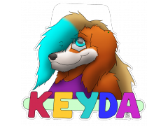 KeydaSnowpaw - Conbadge Exchange, January 2014