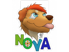 Nova - Conbadge Exchange, July 2014