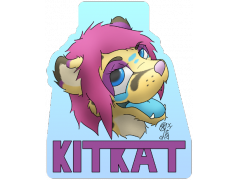KitKat - Conbadge Exchange, August 2014