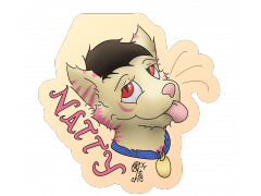 Natty - Conbadge Exchange, September 2014