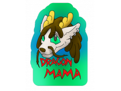 Dragon Mama - Conbadge Exchange, April 2015
