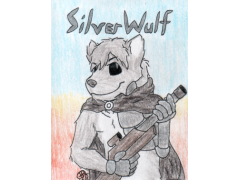 Badge Commission - SilverWulf