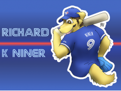 Batter Up! Badge Concept