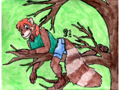 Firevixen in a Tree