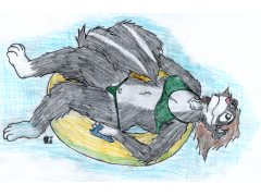 Lazy River Skunk